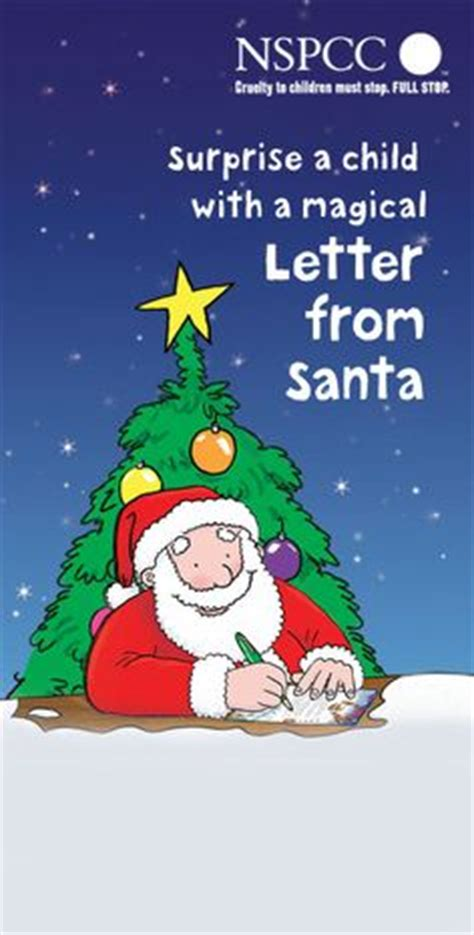 charity letter to santa 1000 images about nspcc letter from santa on