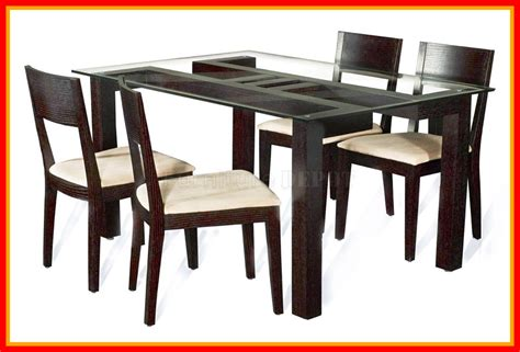 best hardwood for table best glass top wooden dining table designs pics for site