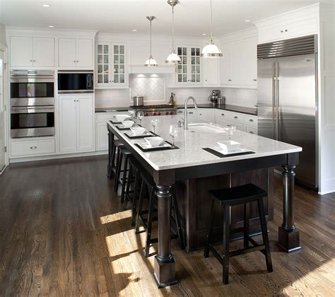 levant white transitional kitchen - White Transitional Kitchens