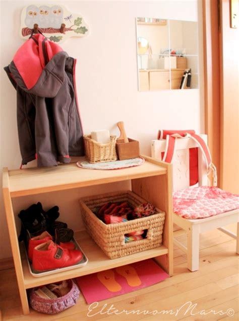 Kinderzimmer Gestalten Nach Montessori by Eltern Vom Mars 10 Einfache Garderobentipps Nach Montessori