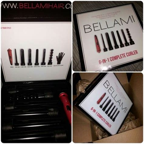 6 in 1 bellami yay just got my bellami 6 in 1 complete curler i m in