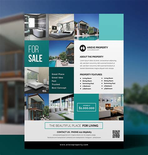 various and high professional templates part 4 real estate flyer