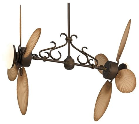country style ceiling fans country cottage casa palm dual 2 light outdoor