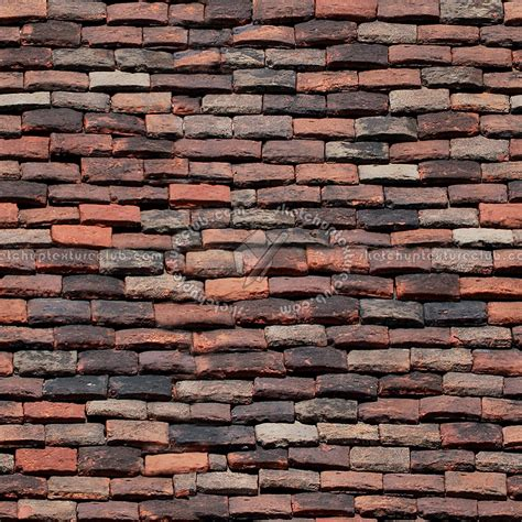 Terracotta Roof Tiles Brick Roof Tiles Seamless Clay Roof Tiles Terracotta Roof Tile Vector