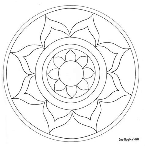 blank mandala coloring pages mandalas on pintura mosaic patterns and