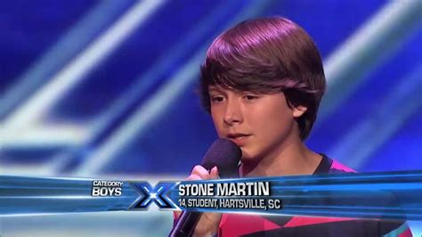 auditions the x factor usa 2013 youtube stone martin little things the x factor usa 2013