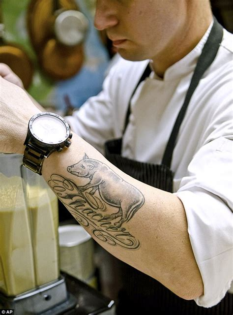 Tattoos Are The New Status Symbols Among Chefs In | tattoos are the new status symbols among chefs in