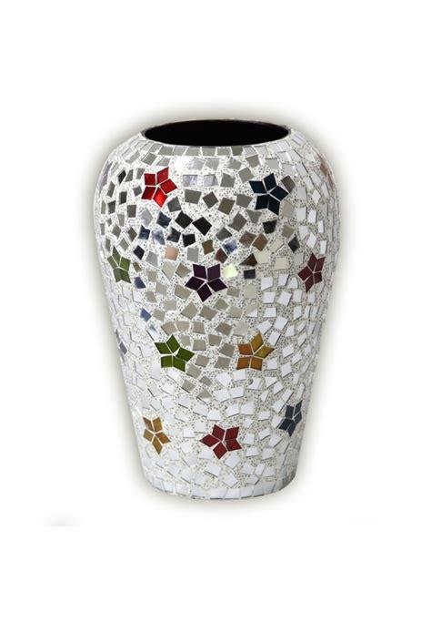 boho chic vase handmade rainbow star bohemian rhapsody