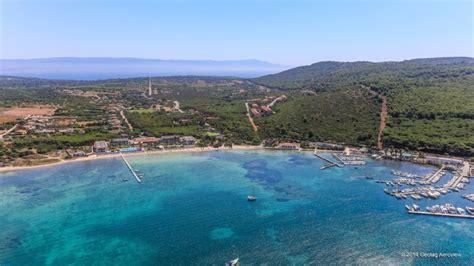 porto conte sardinia italy sardegna sassari porto conte tripinview