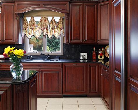 what color paint goes with cherry cabinets home decoration