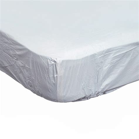 Contoured Plastic Mattress Protector For Home Beds Bed Plastic Mattress Cover
