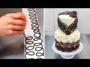 chocolate decoration cake decorando con chocolate by birthday cake decorating ideas taste of home