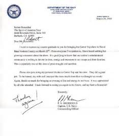 navy letter of appreciation template sle navy letter of appreciation appreciation letter