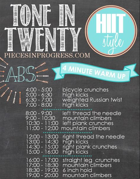 tone in twenty hiit style workouts you can do anywhere