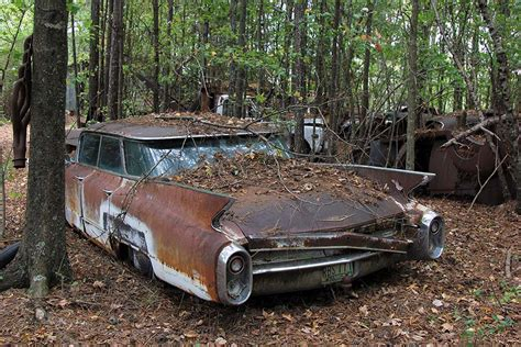 old cars old car city u s a is full of abandoned muscle cars and