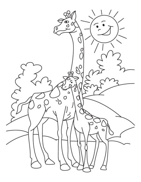 Giraffe Coloring Page Printable by Get This Giraffe Coloring Pages Printable 64195