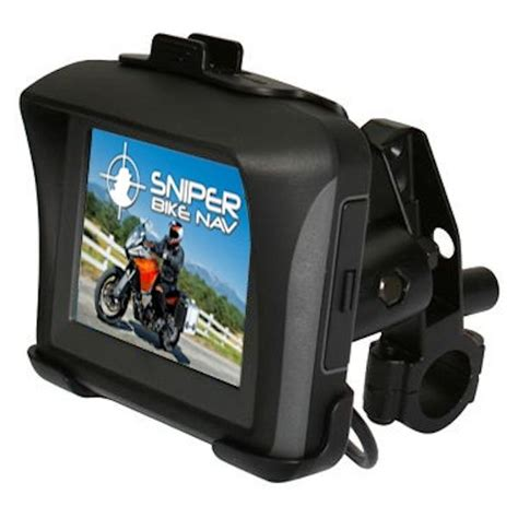 Navigationssystem Motorrad by Motorcycle Sat Nav 3 5 Quot Waterproof Bike Gps Sniper