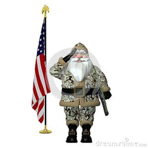santa claus usa army boots on the ground ny leaving no veteran