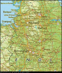 map of northwest cities map of west uk map uk atlas