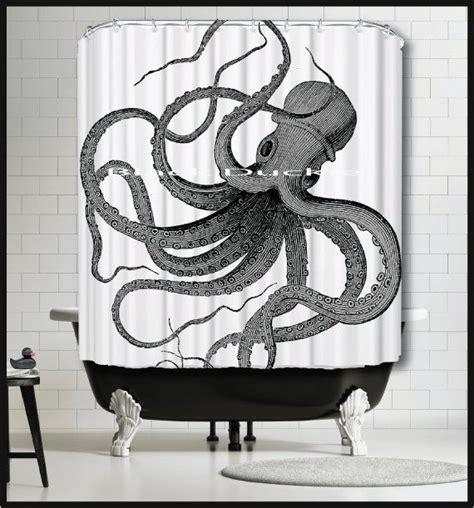 octopus shower curtain ikea 78 ideas about nautical shower curtains on pinterest