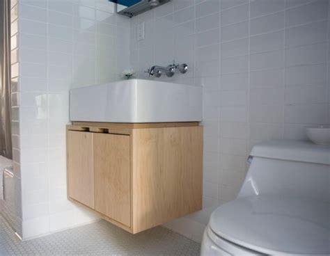 kagan vanity modern bathroom seattle by kerf design
