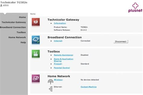 technicolor 582n frequently asked questions plusnet