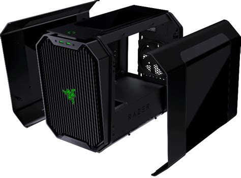 Original Antec Cube Razer Edition 0 8mm Steel Mini Itx antec and razer team up to co brand a new mini itx gaming chassis techpowerup forums
