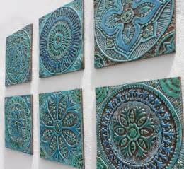 Decorative Tiles 25 Best Ideas About Handmade Tiles On Pinterest Blue