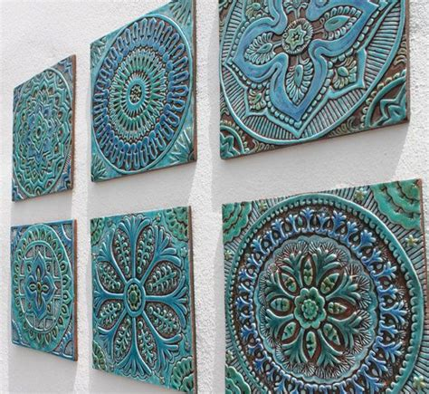 Decorative Tiles 25 Best Ideas About Handmade Tiles On Blue