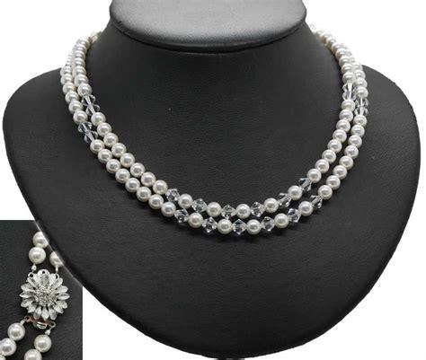 Kette Perlen Hochzeit by Perlenschmuck Zuchtperlen Kette F 252 R Die Hochzeit Kaufen