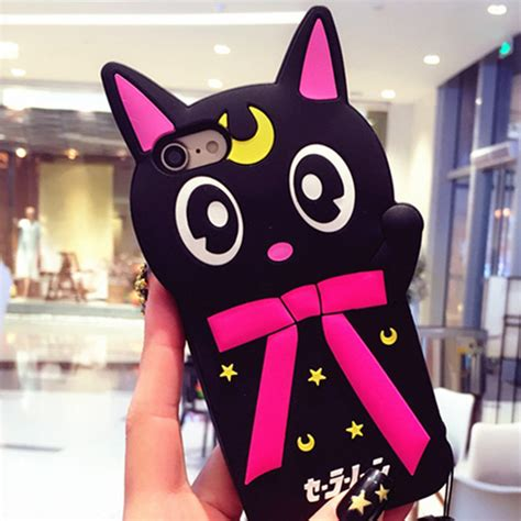 Viccute New Sailor Minnie 3d sailor moon cat mickey minnie mouse monsters sulley tiger soft for iphone 6