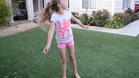 backyard babes girls playing in the yard doing cartwheels youtube