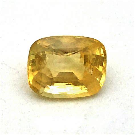 Y1 Ceylon Yellow Sapphire 1 08 3 85 carat yellow sapphire pukhraj gemstone