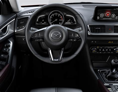 Mazda 3 Interior by 2017 Mazda 3 Hatchback Fuel Efficient Compact Car