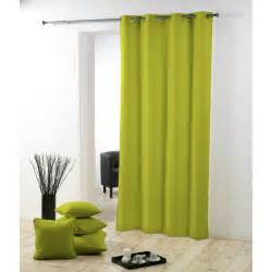 rideaux verts rideau occultant