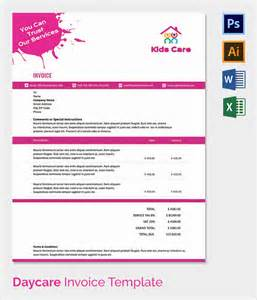 Daycare Invoice Template Free by 38 Invoice Templates Free Sle Exle Format