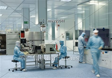 diode lasers from laboratory to industry stock photo clean room laboratory production wafers laser