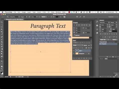 full photoshop cs6 tutorial 158 adobe photoshop cs6 full tutorial formatting paragraph