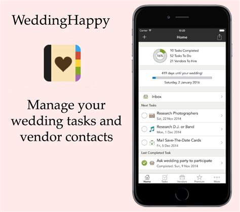 Wedding Planner App by 3 Must Wedding Planning Apps For 2015