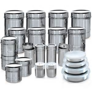 Canister Kitchen Set buy branded 44 pcs stainless steel storage set online at