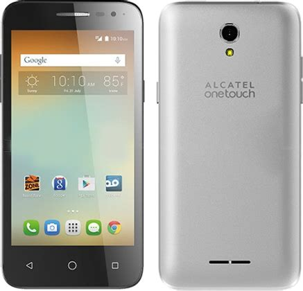 alcatel one touch elevate full phone specifications