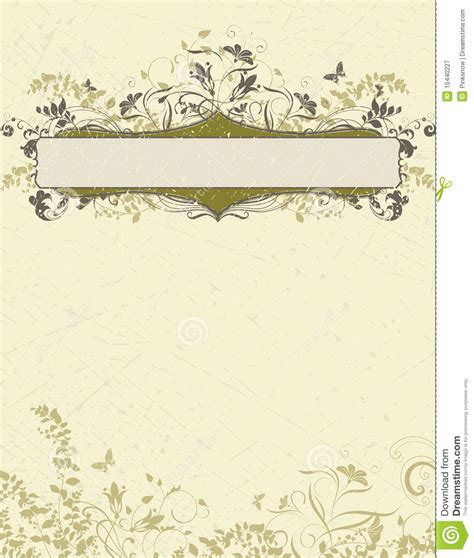 Invitation Card Template Stock Vector Illustration Of Invitation 15440227 Card Background Templates 2