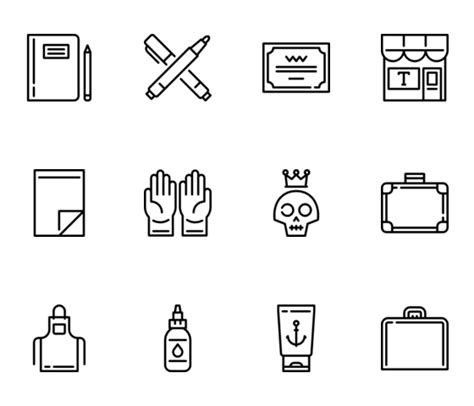 tattoo needle png needle icons 163 free vector icons