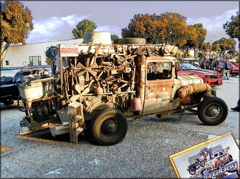 me a picture of a truck rat rod truck morro bay ca car 2012 hdr photo