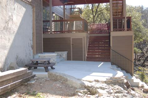 Concrete Backyard Makeover by Concrete Backyard Makeover Large And Beautiful Photos