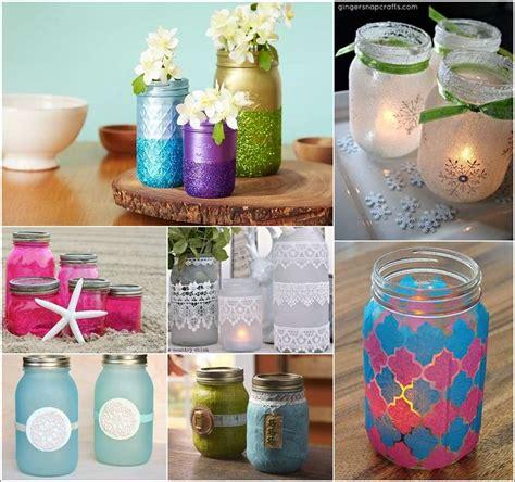 Unique Decoupage Ideas - 18 spectacular ideas to decoupage jars