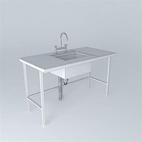 laboratory bench top green benchtop lab free 3d model max obj 3ds fbx stl skp cgtrader com