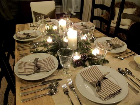 table setting 28 christmas table decorations settings entertaining ideas