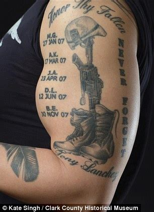 vet ink: the military veterans indelibly marked with their