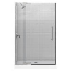home depot pivot shower doors kohler purist 47 3 4 in x 72 1 4 in heavy frameless